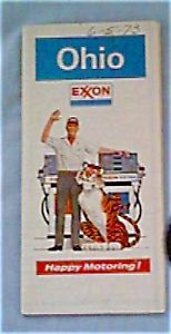 Exxon Map of Ohio, 1972 (Image1)