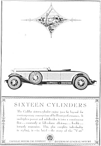 1930 Cadillac Advertisement (Image1)