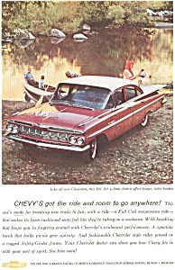 1959 Chevrolet Bel Air Sedan Ad