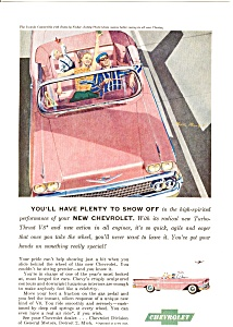 1958 Chevrolet Convertible Ad