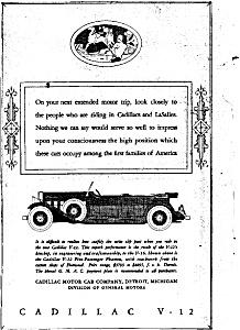1931 Cadillac V-12 Phaeton Ad (Image1)