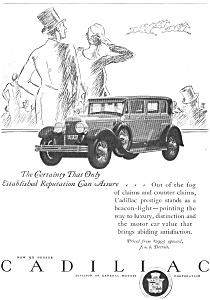 1927 Cadillac 90 Degree Ad (Image1)