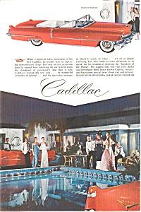 1956 Cadillac  Convertible Ad (Image1)