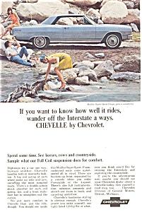 1965 Chevrolet  Chevelle Malibu Ad (Image1)