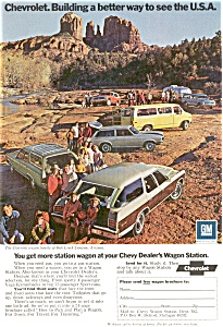 1972 Chevrolet  wagon family Ad (Image1)