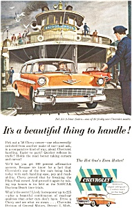 1956 Chevrolet  Bel Air Sedan Ad (Image1)