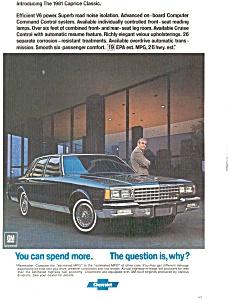 1981 Chevrolet Caprice Classic Ad jan1592 (Image1)