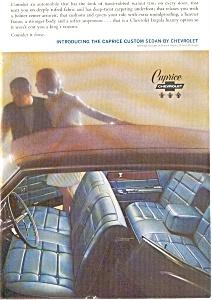 1965 Chevrolet  Caprice Interior Ad (Image1)