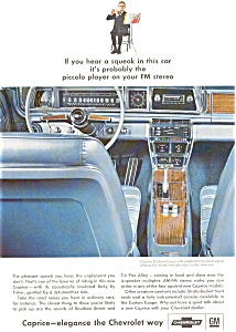 1966 Chevrolet  Caprice Interior Ad (Image1)