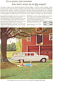 1960 Chevrolet  Kingswood Wagon Ad (Image1)