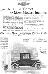 1924 Chevrolet Utility Coupe Ad jan1691 (Image1)