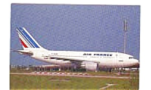 Air France A-310 Postcard jan1759 (Image1)