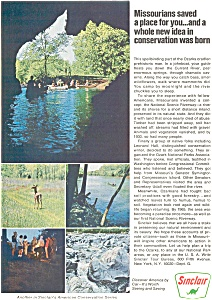 Sinclair Oil Ozarks National Park Ad (Image1)