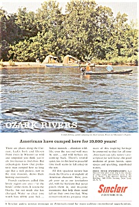 Sinclair Oil Ozark Rivers Ad (Image1)