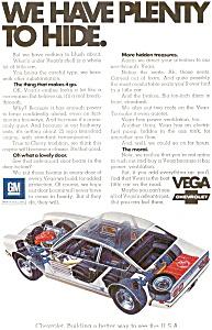 1972 Chevrolet Vega Ad (Image1)