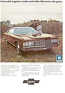 1972 Chevrolet Caprice Ad jan1883 (Image1)