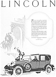 1927 Lincoln  Ad jan1990 (Image1)