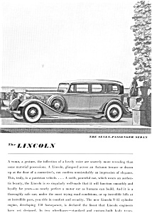 1935 Lincoln 7-Passenger Sedan Ad (Image1)