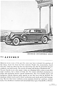 1934 Lincoln Dietrich Convertible Ad jan1997 (Image1)