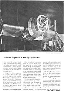 Boeing WWII B29 Engine Testing Ad jan2094 (Image1)