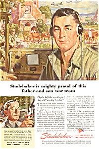 Studebaker Father Son WWII  Ad (Image1)