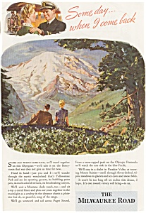 Milwaukee Road WWII  Ad (Image1)
