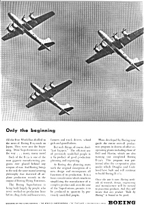 Boeing B-29 Superfortress  Ad (Image1)
