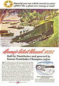 Studebaker Army Weasel M-29C Ad (Image1)