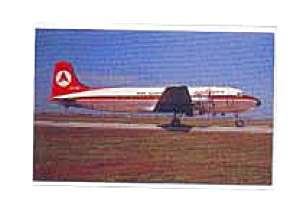 Ansett Air Cargo Dc-4 Postcard Jan2556a
