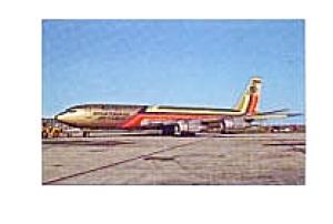 Ecuatoriana Cargo 707-321C Postcard jan2557a (Image1)