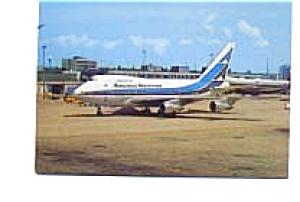 Aerolineas Argentinas 747-SP27 Postcard jan2656 (Image1)