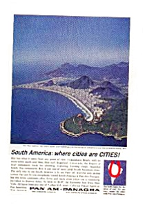 Panagra Blue Harbor Ad Jan2658 1960s