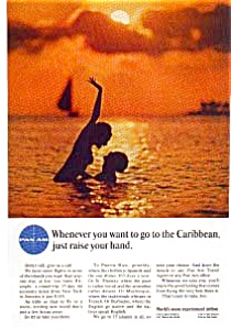 Pan Am Caribbean Ad Jan2659 1960s