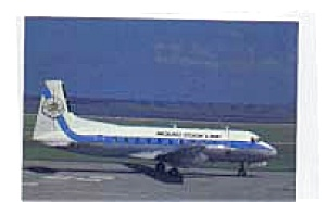 Mount Cook Line HS-748 Postcard jan2756 (Image1)