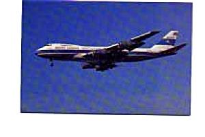 Kuwait Airways 747 Postcard jan3157 (Image1)