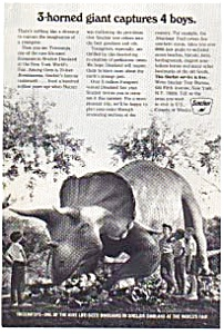 Sinclair Oil Dinoland World's Fair Ad (Image1)