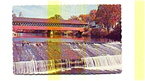 Covered Bridge NH Postcard (Image1)