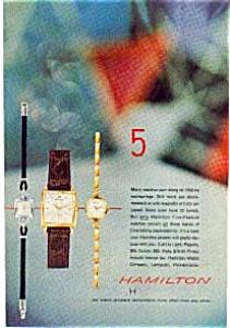 Hamilton Watch Ad jun0331 Apr1957 (Image1)