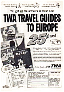 Twa Travel Guides Ad Jun0332 1957