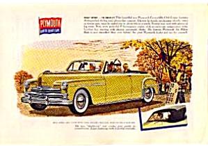 1950 Plymouth Convertible AD jun0335 (Image1)