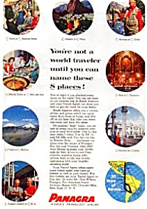 Panagra Ad Jun0336 Nov 1958