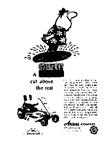 Ariens Riding Lawnmower Ad (Image1)