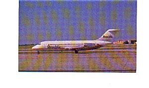 Republic DC-9-15 Airline Postcard jun3208 (Image1)