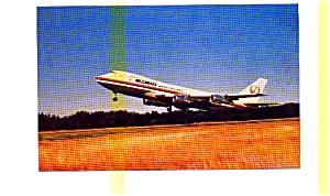 JAL Cargo 747-246F  Airline Postcard jun3210 (Image1)