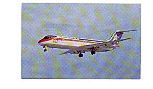 Continental DC-9  Airline Postcard jun3211a (Image1)