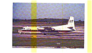 Britt Airways Fh-227c Airline Postcard Jun3230a