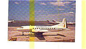 Cosmopolitan Convair 440 Airline Postcard (Image1)