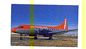 Aspen Airways CV-440 Airline Postcard (Image1)