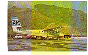 Rai Twin Otter Airline Postcard