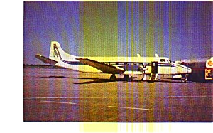 Air Atonabee St-27 Airline Postcard